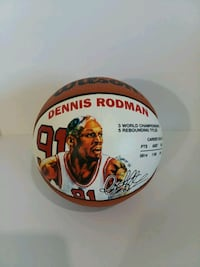 Dennis Rodman Mini Basketball