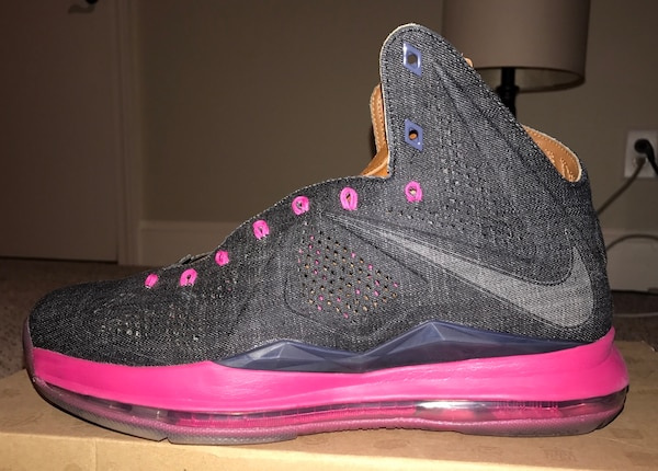 bee6ba61f90 Used VNDS MENS NIKE LEBRON X(10) EXT DENIM QS for sale in Winterville -  letgo