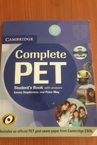 Complete PET Student's Book, Cambridge with CDs İstanbul