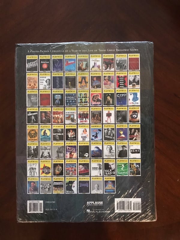 Broadway yearbook 4th edition (still in plastic) 1a50e8a8-b14c-4716-816a-daef8722951c