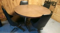 Mid century table and chairs