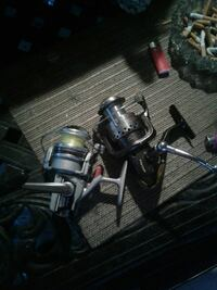 two gray and black fishing reels Groveton, 22306