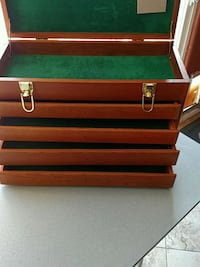 red and black tool chest Orange, 92869