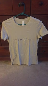 Brand New Women's Graphic Tee (Design: MTWTF) Arlington, 22201