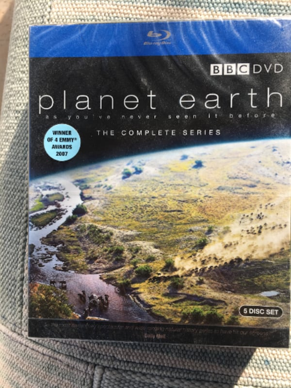Planet Earth The Complete Series [Blu-ray] (2007) 5-Disc Set. 9fd88bb1-44b6-4428-aa07-96085eb547f8