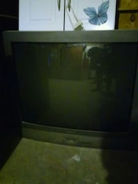 black and gray CRT TV Mission, 78572