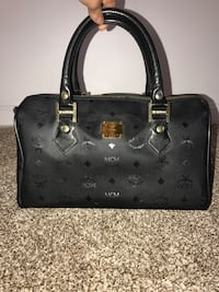 MCM black monogram bowler bag 100% authentic  Ashburn, 20147