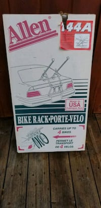 NEW IN BOX ALLEN 144A 4 BIKE RACK.  PICK UP MIDDLE Middleborough, 02346