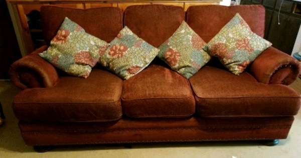 Astonishing Burgundy Couch And Pillows Ibusinesslaw Wood Chair Design Ideas Ibusinesslaworg