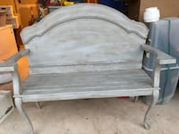 Handmade wood bench Manassas