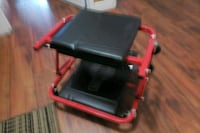 black and red plastic tool box Surrey, V3R 5X9