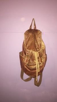 brown leather knapsack Calgary, T2M 1P6