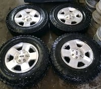Ford f150 rims and tires all terrain  Toronto, M6L 1A4