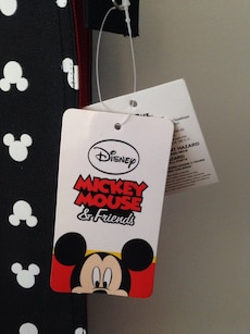 Mickey Mouse bag. Brand-new with tags.