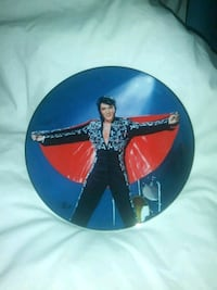 Collectable Elvis Plate  Fillmore, 93015