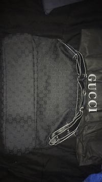 Black and gray gucci monogram handbag Las Vegas, 89108