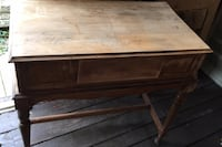 Table with drawer needs refinishing , N0E 1Y0