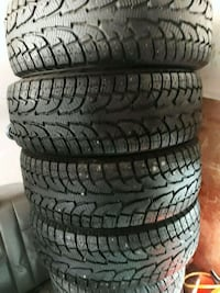 Hankook I Pike 265/65 R17 studded winter tires  Anchorage, 99507