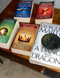 Song of Ice and Fire— Game of Thrones book set Washington