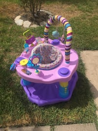baby's purple and pink activity center Katy, 77449