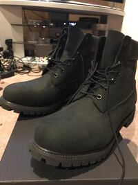 Pair of black timberland boots 12M Germantown, 20876