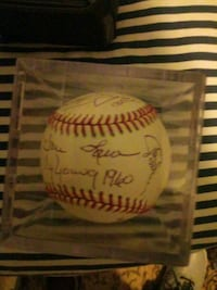 Cy Young Award winners signed baseball