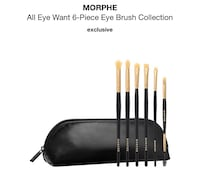 BRAND NEW EYE BRUSHES WITH CASE