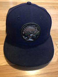 Sabres Navy and camo  fitted cap 268 mi