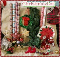Christmas Lot With Tree And Decorations 1615 mi