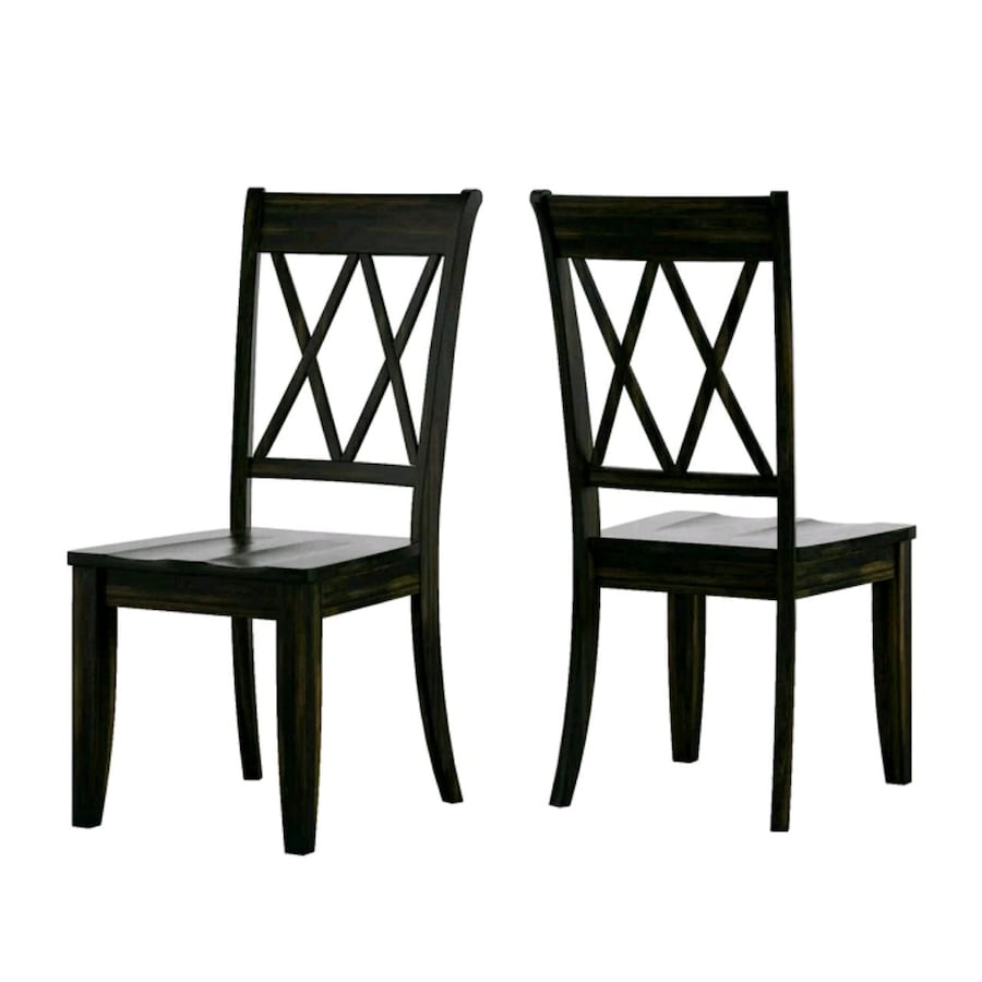 Huling Solid Wood Dining Chair (Pkg. 2) (NEW)