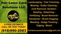 Lawn maintenance and Landscaping Muskogee