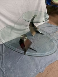 2x Glass Tables OBO Oklahoma City, 73119