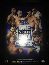 TNA One night only TAG TEAM TOURNAMENT