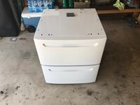 White washer/dryer pedestal Simpsonville, 29680