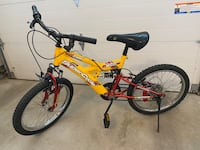 Full Suspension Bike -Kids Children SuperCycle