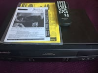 Quasar video cassette recorder with remote control and operating instructions included. Like new condition. Reisterstown, 21136