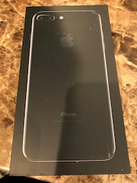 iPhone 7plus 128gb jet black