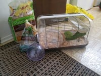 hamster cage and accessories  Edmonton