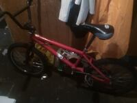 toddler's red and black bicycle Kitchener