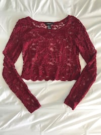 Lace crop top Markham, L6C 1V8