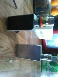 two grey and black box mods with tank atomizers Las Vegas, 89169
