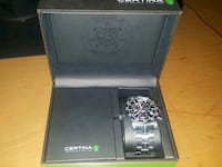 Certina DS Sport Sort/Stål Ø42 mm Ås, 1430