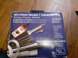 Plastic mini welder