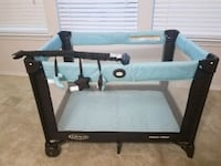 black and gray Graco pack n play Frisco, 75033