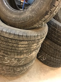 four black auto tire set Kitchener, N2G 3N7