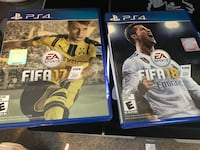 Ps4 2 games 1 cntroller El Paso, 79938