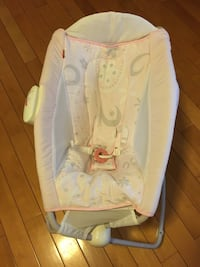 Fisher price rock and play vibrating sleeper
