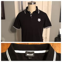 Just Cavalli men's polo shirt paid $170 size L good condition Washington, 20002