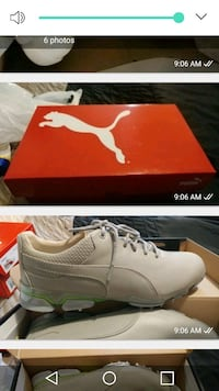 white PUMA sneaker with box collage screenshot Montréal, H1Z 2S8