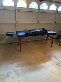 Used once, massage table and bag Phoenix, 85032